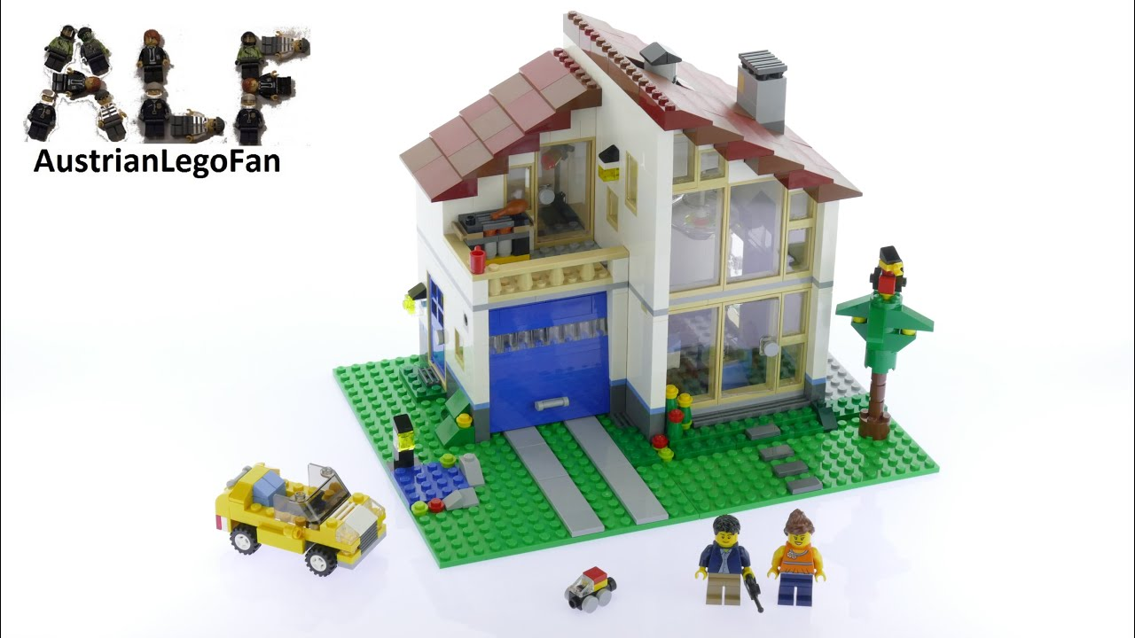 Lego Creator 31012 Family Home Lego Speed Build Review
