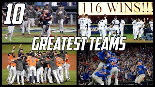 MLB | 10 Greatest Teams of the 21st Century