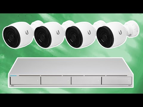 Ubiquiti UniFi Protect System - Complete Breakdown.  unvr unifi protect network video recorder