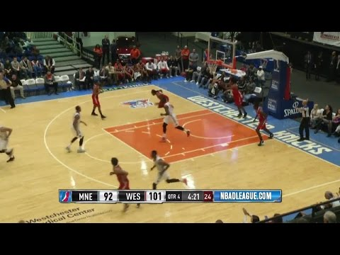 Sean Marshall posts 18 points & 10 rebounds vs. the Red Claws, 11122015