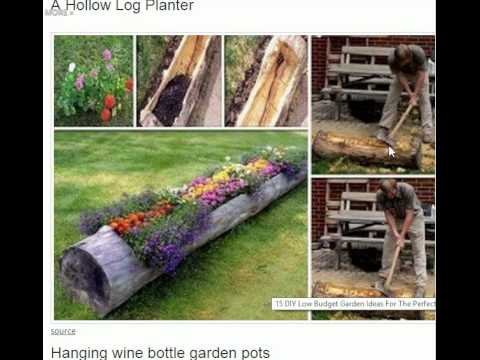15 DIY Low Budget Garden Ideas For The Perfect Backyard - YouTube