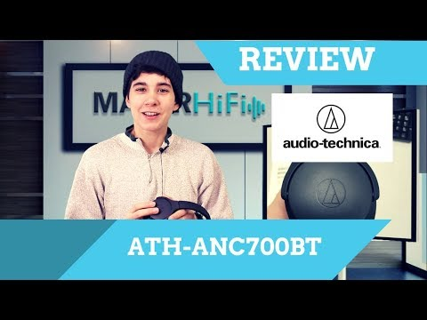 Audio Technica ATH-ANC700BT Wireless Noise Cancelling Headphones Review