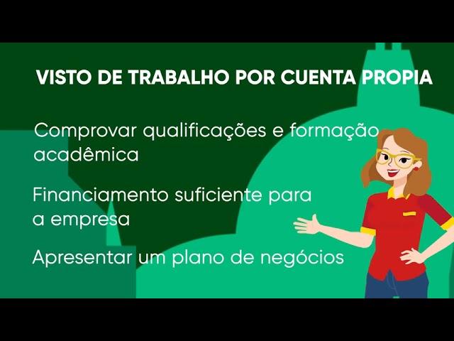 Como conseguir o Visto de Trabalho por Cuenta Propia na Espanha?