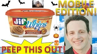 Jif® Whips Whipped Peanut Butter & Pumpkin Pie Spice Review! Peep This Out!
