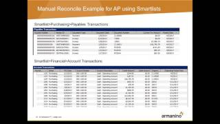 Dynamics GP Tips Tricks Basic Reconciling in the General Ledger