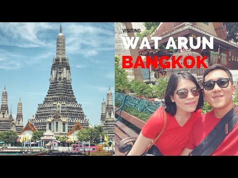 Exploring Bangkok (Wat Arun Temple of Dawn) 🌴Fantastic Travel 🌴 2017