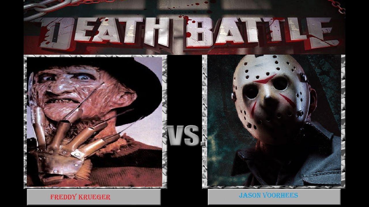 Death Battle Freddy Krueger Vs Jason Voorhees Youtube