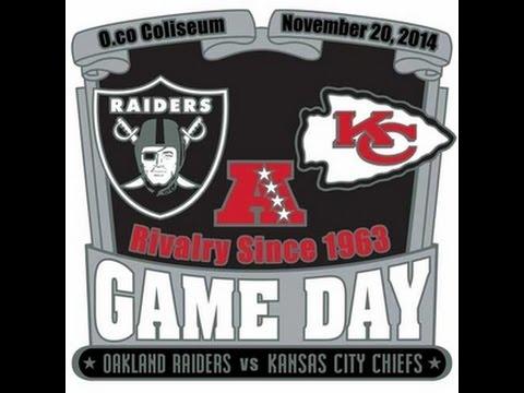 Week 12 Game Highlights Kansas City Chiefs vs Oakland Raiders