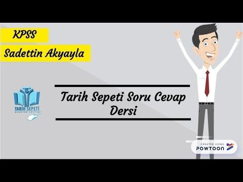 1) Soru Cevap ile TARİH TEKRARI - Orta Asya (Sadettin Akyayla)