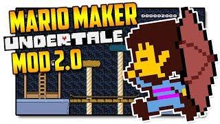 UNDERTALE 2.0 - Super Mario Maker Mod