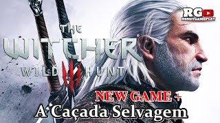 🔴⚔🗡The Witcher III-Wild Hunt/ A Caçada Selvagem #1-O Inicio/ NG+.(Gameplay Ps4).