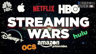 Disney+, Netflix, HBO Max... La guerre du streaming arrive !