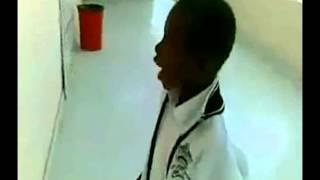 Boy Imitate  Ambulance Sound