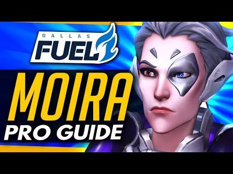 Overwatch | PRO MOIRA GUIDE ft Dallas Fuel CUSTAA thumbnail
