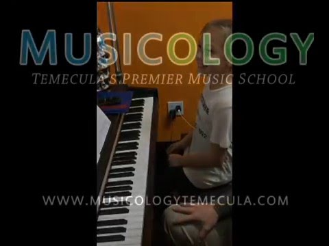 Faith Vs Mr. Steve - Musicology Temecula - Who Plays The Piano Faster?