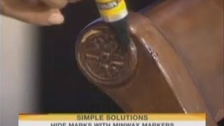NBC Today Show: Household Fixes with Minwax Stain Markers