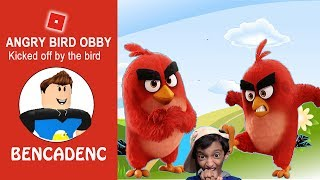 ROBLOX ANGRY BIRDS OBBY| KICKED-OFF BY ANGRY BIRD