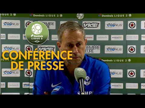 Conférence de presse Red Star  FC - AS Nancy Lorraine ( 1-1 )  / 2018-19