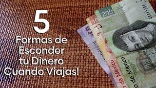5 Formas para esconder dinero cuando viajas