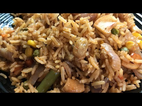 Healthy Brown Rice Pulao | Fluffy Brown Rice Pilaf | Ami's Cooking