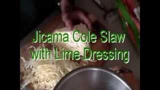 Jicama Cole Slaw - How To Make