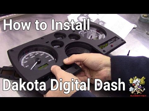 Dakota Digital Dash Install !!!