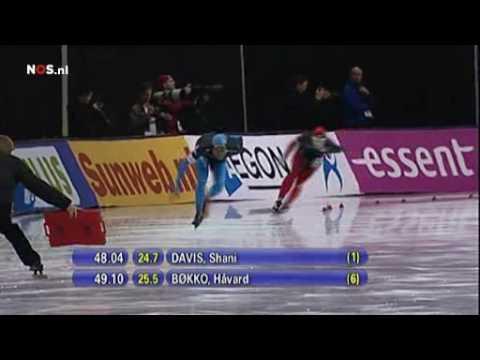 shani davis world record 1500 meters speedskating  12-11-2009 Salt Lake City , USA
