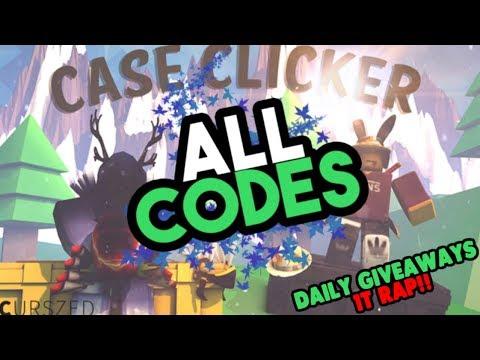 [Roblox] Case Clicker: ALL WORKING CODES (Always updated, CHECK DESC!)