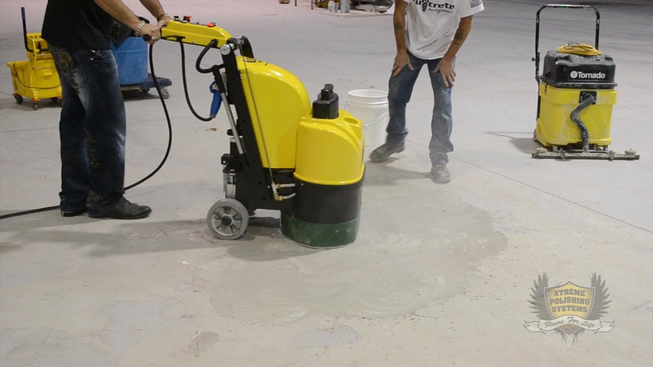 How To Remove Epoxy With A Grinding And
