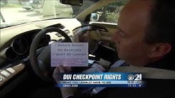 DUI checkpoint laws