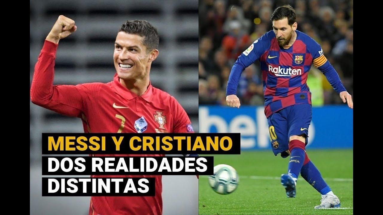 Cristiano Ronaldo y Lionel Messi: un presente muy diferente para ambos