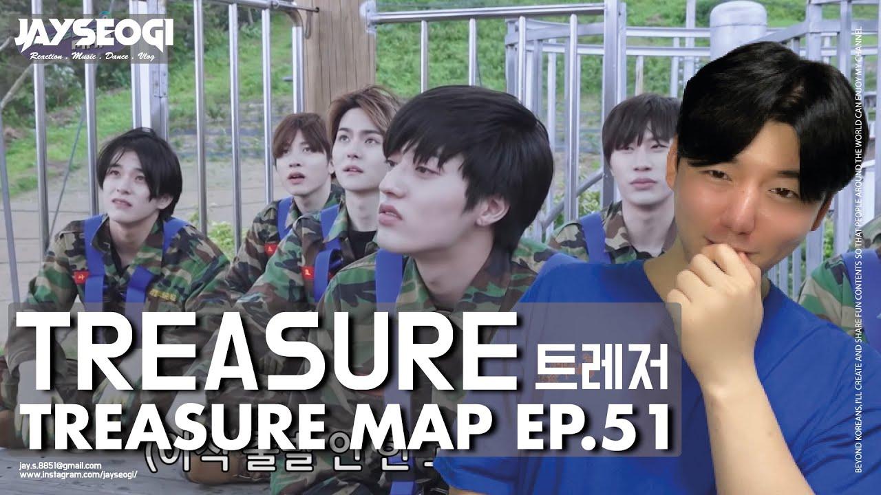 [ENG SUB][TREASURE MAP] EP.51 🔥 이것이 트레저의 팀워크다악! 🔥 극기 훈련 캠프 REACTION