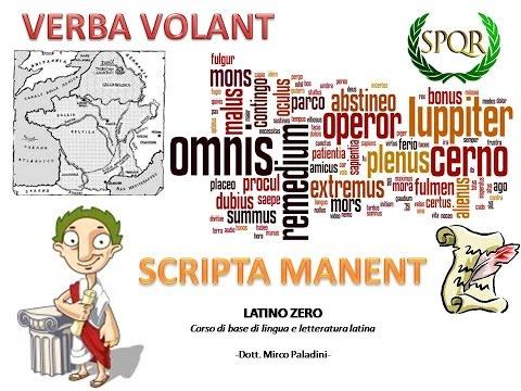 #Latino sintassi dei casi - Dativo (Parte II): Verbi transitivi e intransitivi from YouTube · Duration:  19 minutes 43 seconds