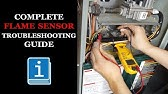 Furnace Flame Roll Out Switch Tripped - How it Works - YouTube