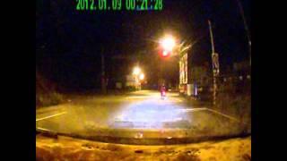 20120109凌晨0時21分竹北市東興路竹中大橋路口機車事故
