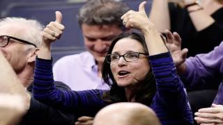 Julia Louis-Dreyfus Breaks Out the Elaine Dance After Her Son's Team Makes March Madness