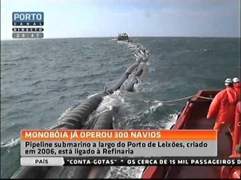 Monoboia - TOGL - Refinaria de Matosinhos - Petrogal - Galpenergia - Porto de Leixões