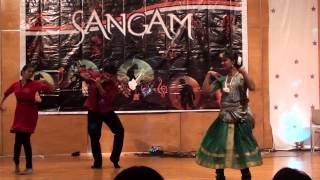 Sangam 2012 UTD Indian Classical And Western fusion dance