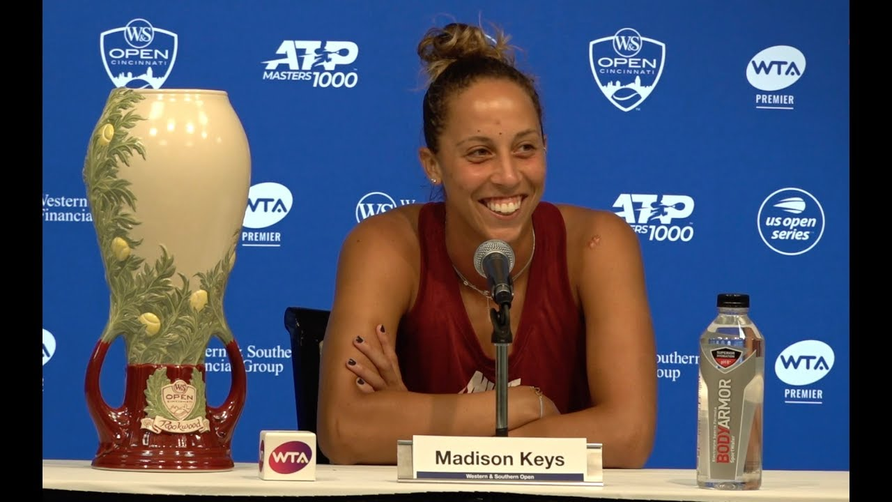 Madison Keys Press Conference | 2019 Western & Southern Open Final