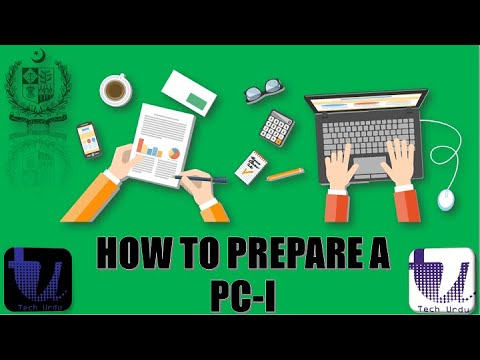 How to Prepare a PC-I | PC-I TO PC-V Tutorial Step by Step | PC-I Preparation PART 3/7 [Urdu/Hindi]