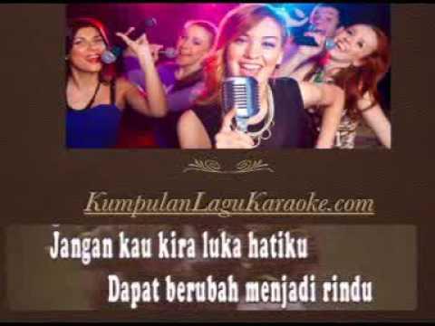 TAK MUNGKIN AIR MATAMU JADI AIR SUSU - MANSYUR S karaoke dangdut tembang kenangan ( tanpa vokal )