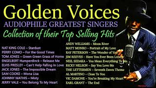 OLDIES LEGENDS - Johnny Mathis, Perry Como, Nat King Cole, Jerry Vale, the best crooners..