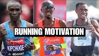RUNNING MOTIVATION   ELIUD KIPCHOGE vs MO FARAH vs KENENISA BEKELE