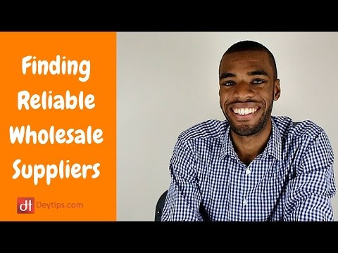 Wholesale Deals | How To Find Reliable Wholesale Suppliers