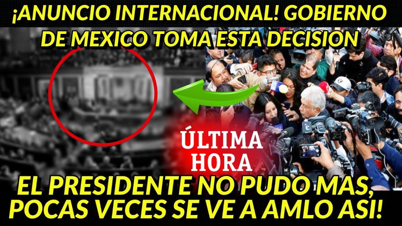 ¡FUE SUFICIENTE! EL PRESIDENTE NO PUDO MAS Y TOMA ESTA DECISION NOTICIA INTERNACIONAL YA ERA HORA