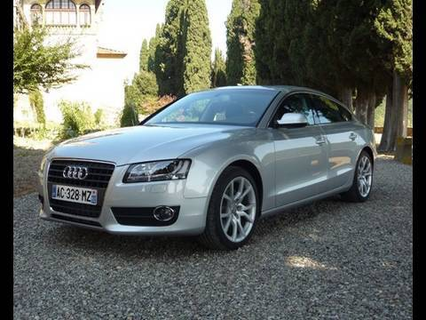 audi a5 sportback 2009 youtube. Black Bedroom Furniture Sets. Home Design Ideas