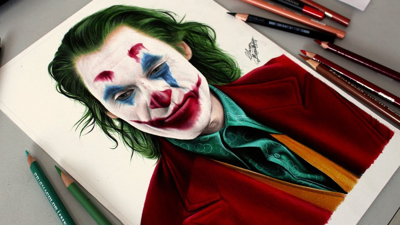 Desenhando O Coringa Joker Speed Drawing Tattoo Blog