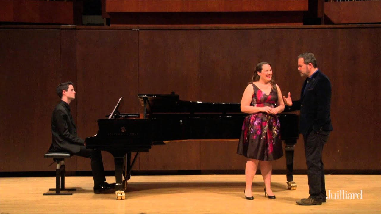 Gerald Finley Master Class, May 7, 2015: Christine Price and William Kelley