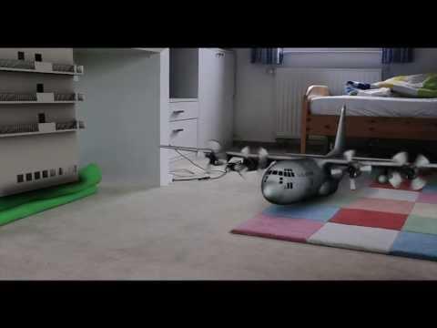 My room as a military base (3D CGI) [Cinema 4D]