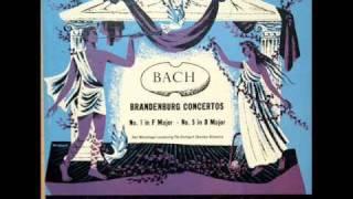 Bach / Karl Münchinger, 1951: Brandenburg Concerto No. 5 in D major, BWV 1050 (Allegro)